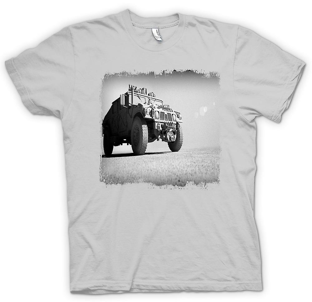 Mens T-shirt - US Army Humvee - Desert Warrior