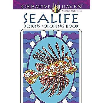 Sealife mönster (kreativa oas målarböcker)