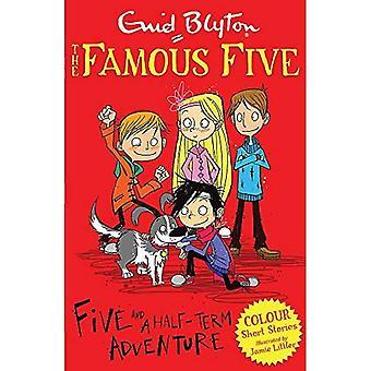 Berömda fem färg noveller: Fem och en halva tiden äventyr
