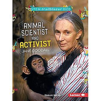 Eläinten tutkija ja aktivisti Jane Goodall (varsi Trailblazer Bios)