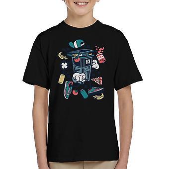 Papirkurven kan mand børne T-Shirt