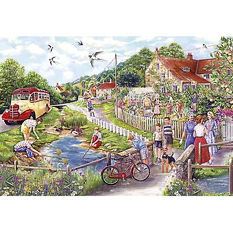 Gibsons Summer by the Stream Jigsaw Puzzle, 250XL piece