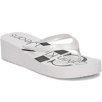 Calvin Klein Jeans RE9856SILVER vrouwen schoenen