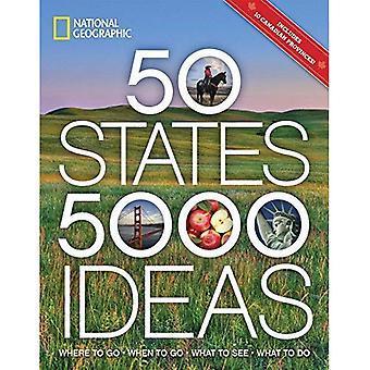 50 Estados, 5.000 ideias: onde ir, quando ir, o que viu, o que fazer