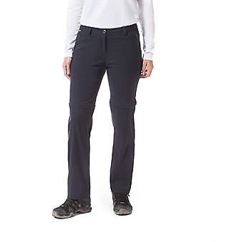 Craghoppers Womens Kiwi Pro Convertible Zip Off Trousers