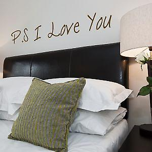 P.S I Love You Wall Sticker