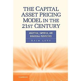 Capital Asset prismodellen i 21 analytisk empirisk og atferdsmessige perspektivene av Levy & Haim