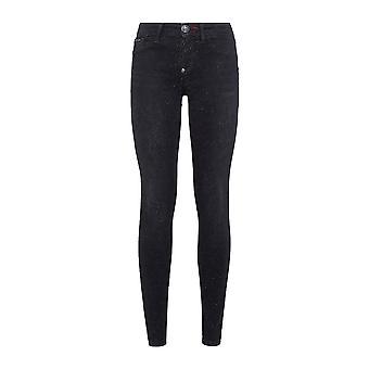Philipp Plein Black katoen Jeans