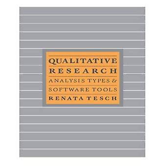 Qualitative Research Analysis Types and Software by Tesch & Renata