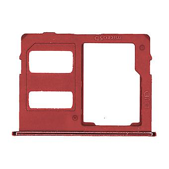 Oryginalna Samsung J6 + - czerwony Dual SIM & Tacka karty pamięci | iParts4u