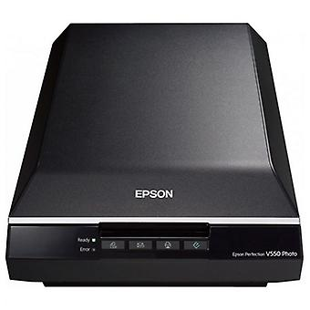Scanner Portable Epson Perfection Photo B11B210302 6,400 V550 ppp 3.4 Dmax A4 USB 2.0 B