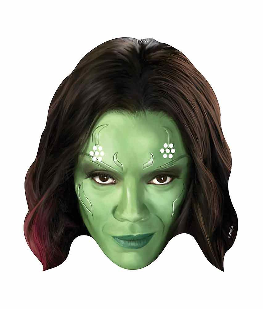 Gamora Guardians of the Galaxy Single Card Party Face Mask