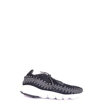Nike Black Fabric Sneakers