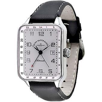 Zeno-watch montre rétro SQ (temps double) 163GMT-e2