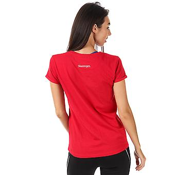 Womens Slazenger Hyper T-Shirt In Lollipop
