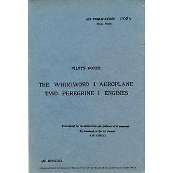 Westland Whirlwind 1 (Facsimile of 1941 ed) by Air Ministry - 9780859