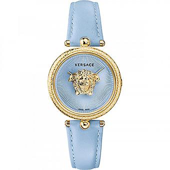Versace Women's Watch Wristwatch PALAZZO Empire VECQ00918 Leather