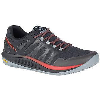 Merrell Black Mens Nova GTX Walking Shoes