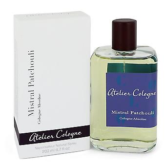 Mistral Patchouli by Atelier Cologne Pure Perfume Spray 6.7 oz / 200 ml (Women)