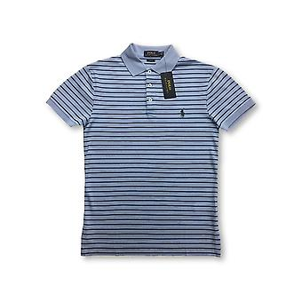 Ralph Lauren Polo slim fit polo in light blue st