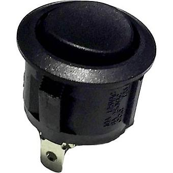 Toggle switch R13-112 250 V AC 6 A 1 x (On)/Off/(On) momentary/0/momentary 1 pc(s)