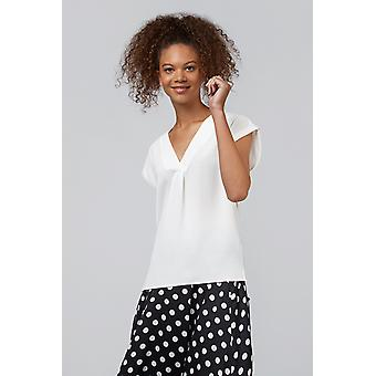Louche Moroni VNeck Sleeveless Top Ivory