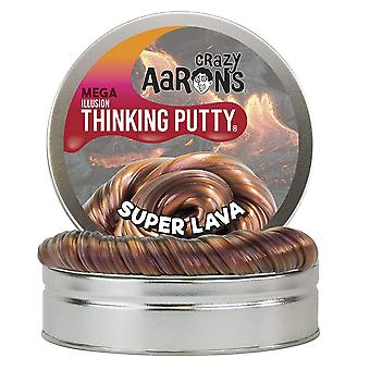 Crazy Aaron ' s denken putty Super lava Mega tin