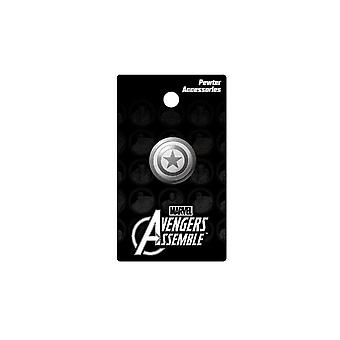 Pin - Marvel - Captain America - Shield Metal New Toys Gifts Licensed 67973
