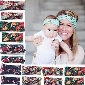 Mumma & baby floral head bands