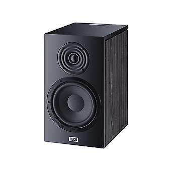 Heco Aurora 300, Bookshelf speaker, 2-way bass reflex, black, 1 pair