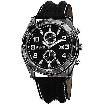 August Steiner-AS8117BK wrist watch for men