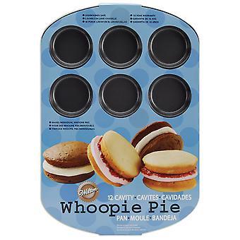 Whoopie Pie Pan 12 holte ronde W0615