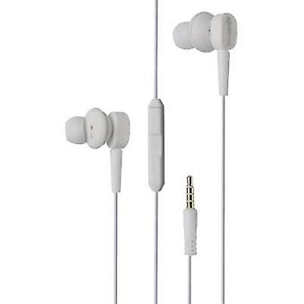 Headphone Boompods Earbuds MFI In-ear Headset White