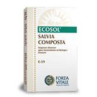 Forza Vitale Compost Extract Salvia 10Ml.