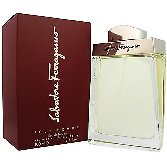 Ferragamo voor mannen 3.4 oz 100 ml EDT Spray