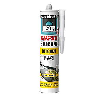 Bison Super Siliconekit Keuken Transparant  310 Ml