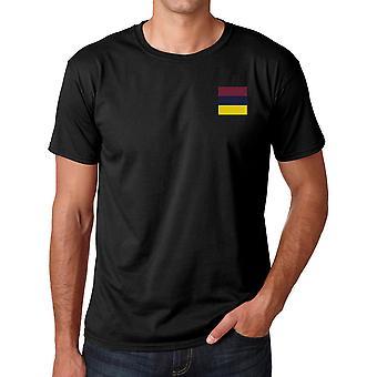 Army Medical Corps RAMC brodeerattu TRF logo-virallinen British Army Cotton T-paita