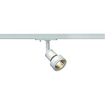 High voltage mounting rail light 1-phase GU10 50 W HV halogen SLV Puri 143391 White