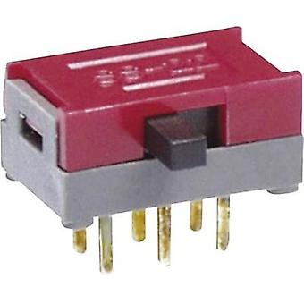 Slide switch 30 Vdc 0.1 A 1 x On/On/On NKK Switches SS14MDP2 1 pc(s)