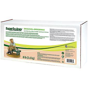 Super Sculpey Clay 8 Lbs-Beige SS8