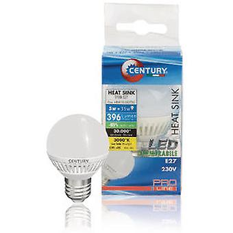 Century Micro Led Globe Bulb With Frosted 5W (Maison , Luminaire , Ampoules et Néons)