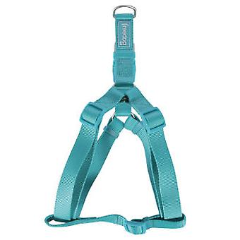 Freedog Harness Nylon Basic A Turquoise (Dogs , Collars, Leads and Harnesses , Harnesses)
