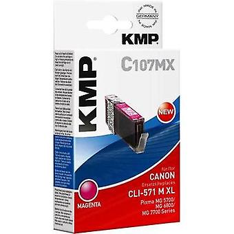 KMP Ink replaced Canon CLI-571M XL Compatible Mag