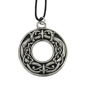 Handmade Courtney Davis Viking Beasts Pewter Pendant for Power and Strength