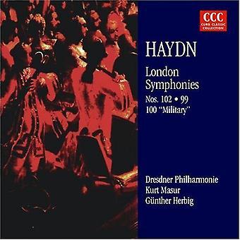 Haydn/Masur - Joseph Haydn: Londen symfonieën Nos. 99, 100 & 102 [CD] USA import