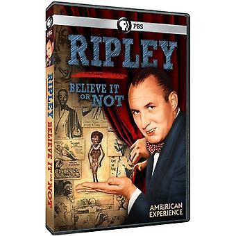 Amerikanische Erfahrung: Ripley: ob Sie es glauben oder nicht [DVD] USA Import