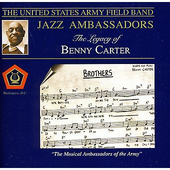 US Army Field Band Jazz ambassadører - arven fra Benny Carter [CD] USA import
