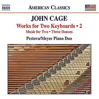 Cage - Works for Two Keyboards Vol 2 [CD] USA import
