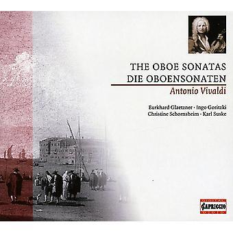 A. Vivaldi - Vivaldi: The Obo sonater [CD] USA import