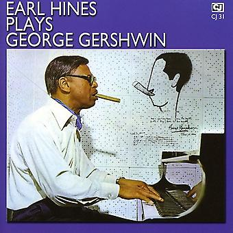 Earl Hines - Earl Hines spiller George Gershwin [CD] USA import
